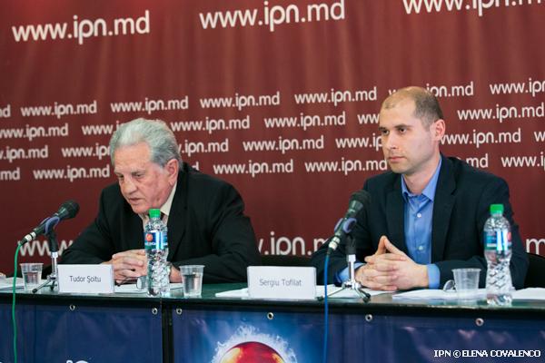 """Conferință de presă organizată de Comunitatea """"Watchdog.MD"""" cu tema """"De ce trebuie redus tariful pentru energia termică în Chișinău""""."""